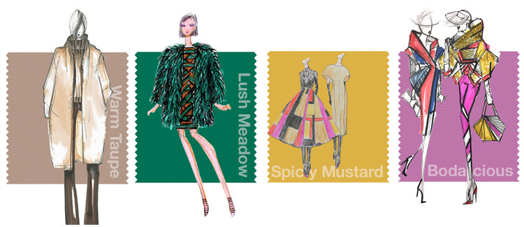 Pantone Fashion Color Report Herbst 2016