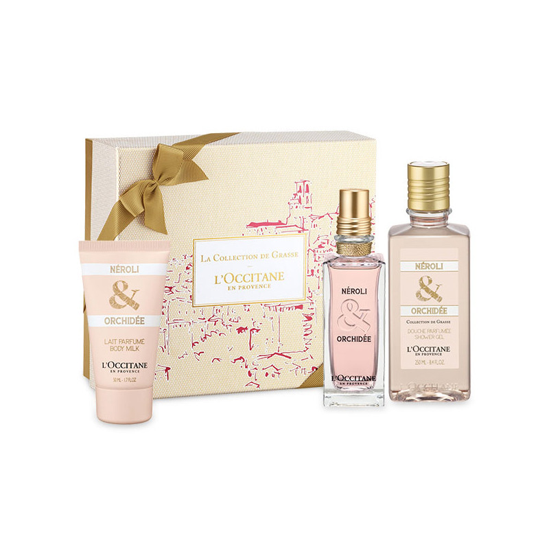 Geschenkbox Néroli & Orchidee