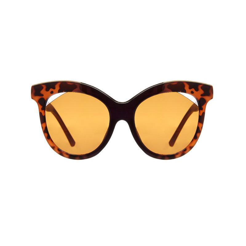 Braune Sonnenbrille von Hot List