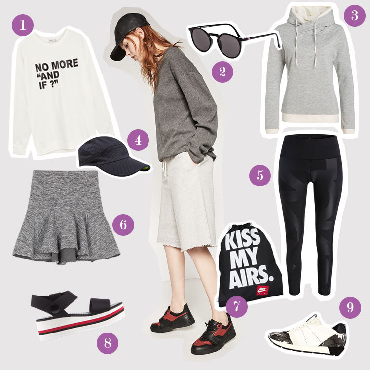 Sportliches Casual-Outfit