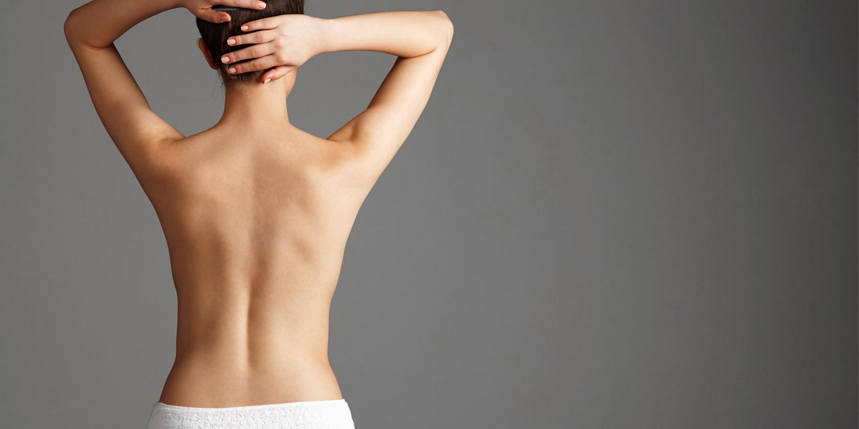 Schöner Rücken Frau