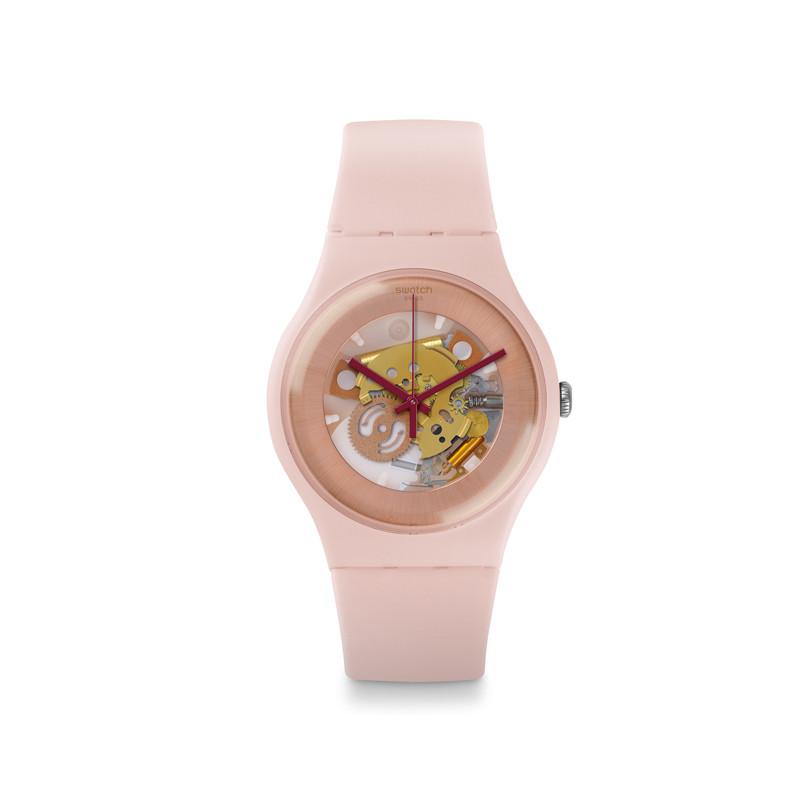 Uhr von Swatch in Rosa
