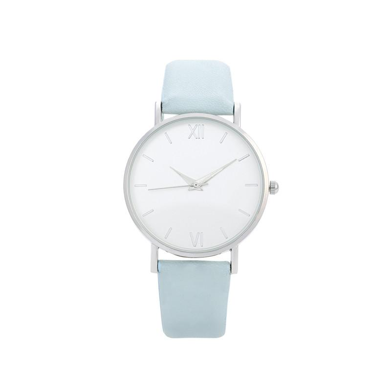 Uhr von Bijou Brigitte in Hellblau
