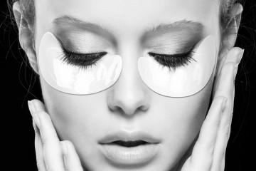 Augenpflege und Augenmasken