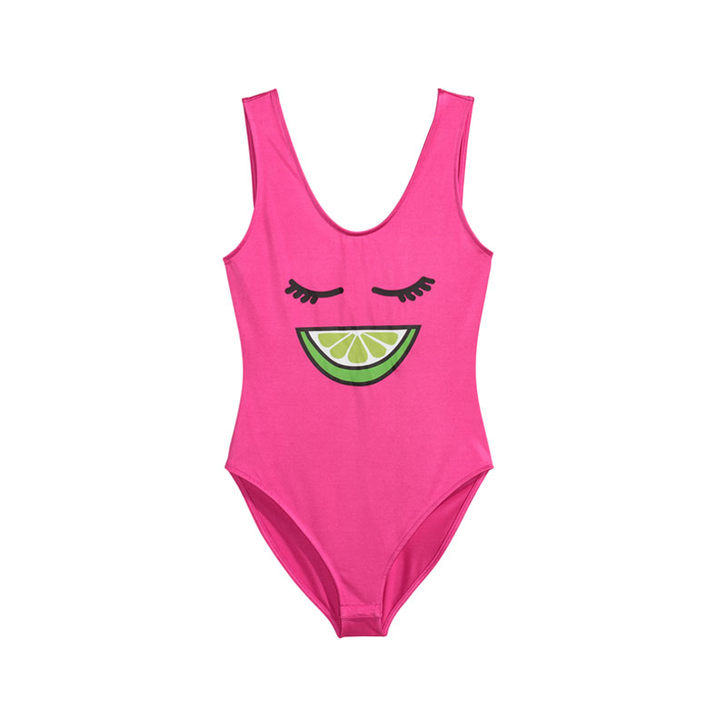 Pinker Badeanzug von H&M