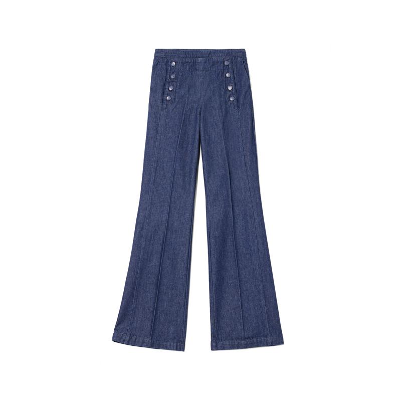 High Waist Flared Jeans von Sisley