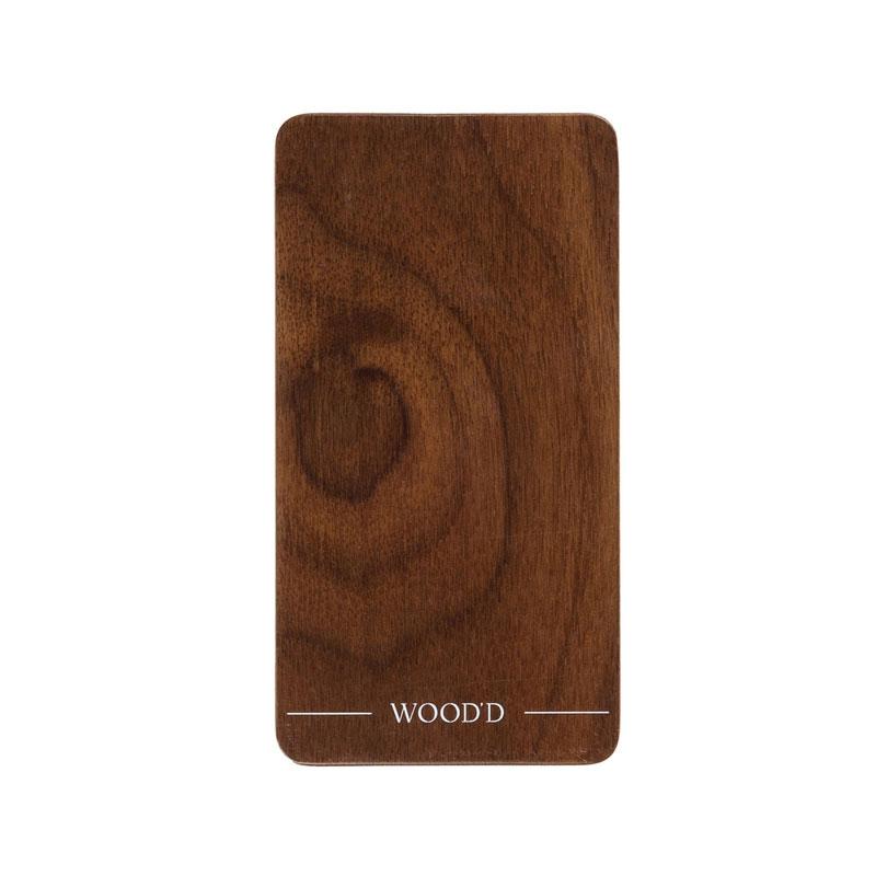 Handhülle aus Holz