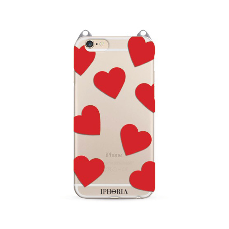 iphoria handy case herzen