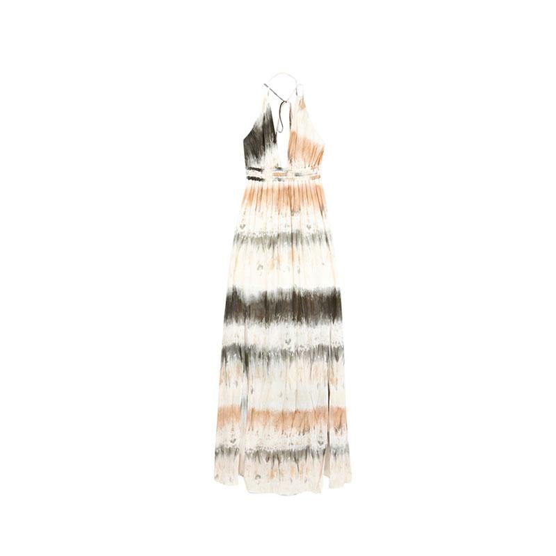 Batik Kleid von Bershka