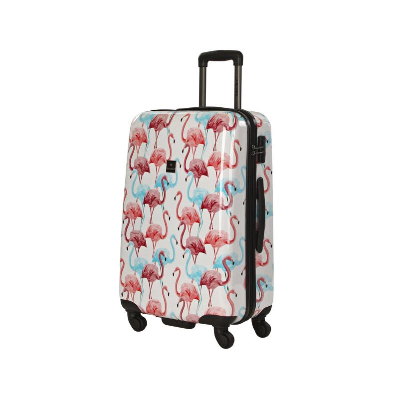 koffer flamingo