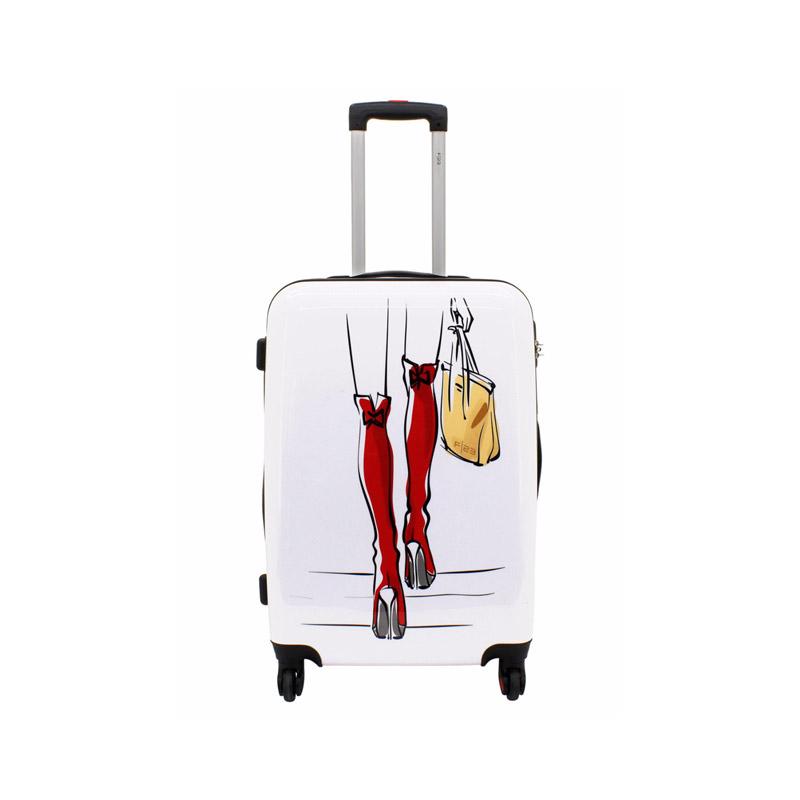 koffer reisen beine