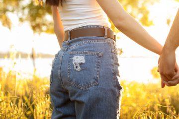 mom jeans hosen