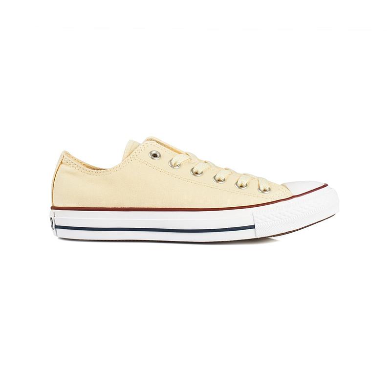 Pastellgelbe Sneaker von Converse