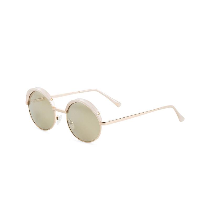 Weisse Sonnenbrille von Le Specs