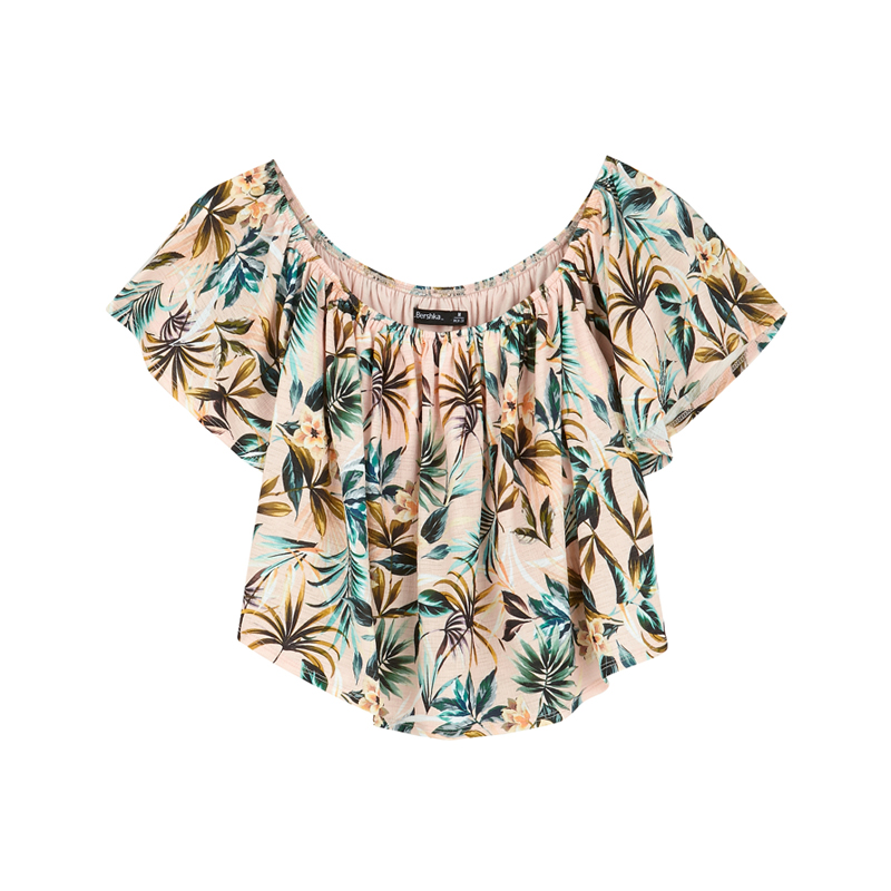 Tropical Top von Bershka
