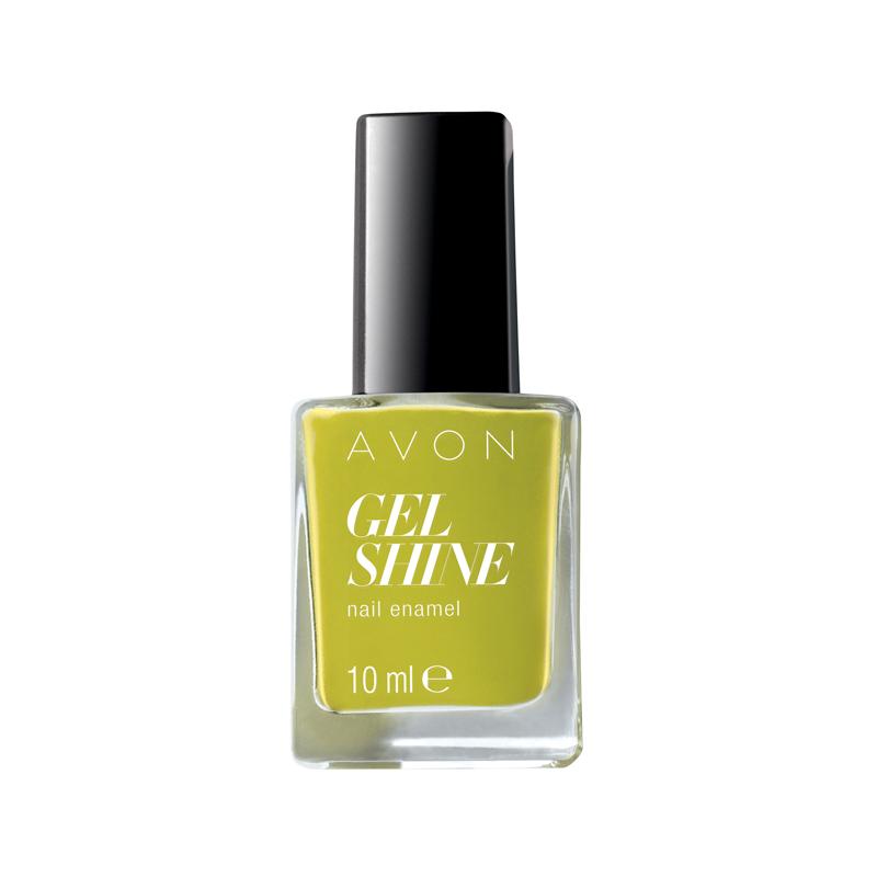 avon gel shine nagellack citronised