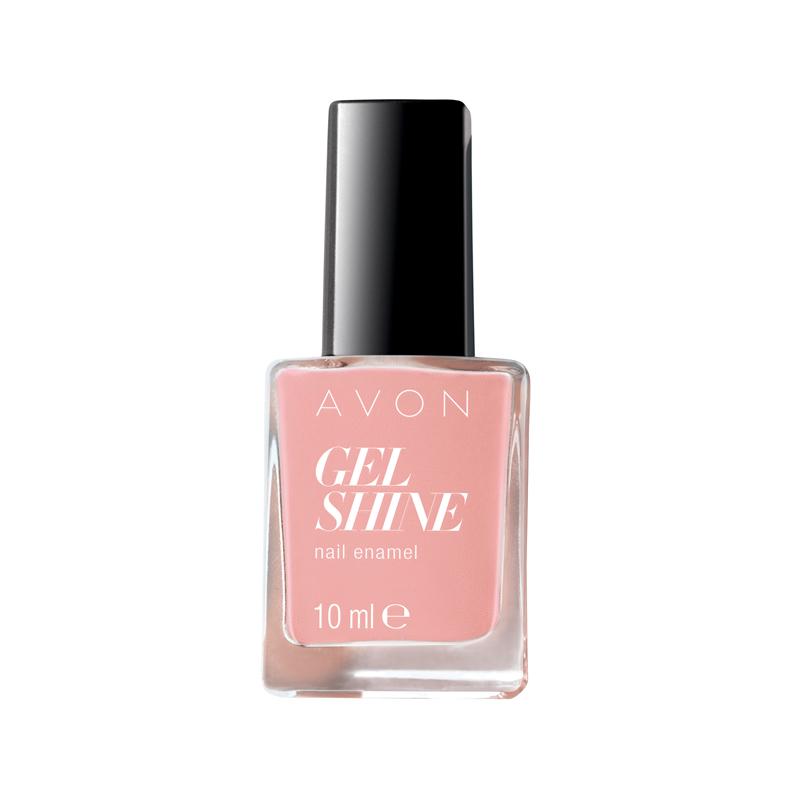 avon gel shine nagellack dazzle pink