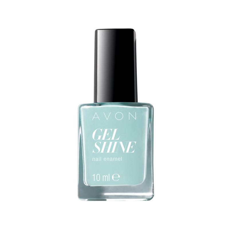 avon gel shine nagellack mint to be