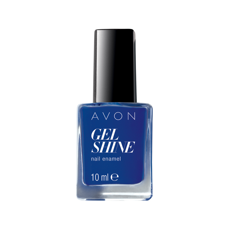 avon gel shine nagellack sapphired up