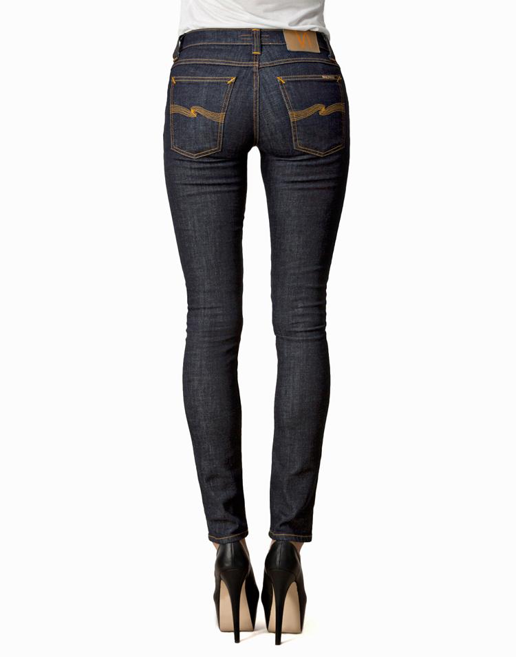 Dunkelblaue Jeans von NUDIE