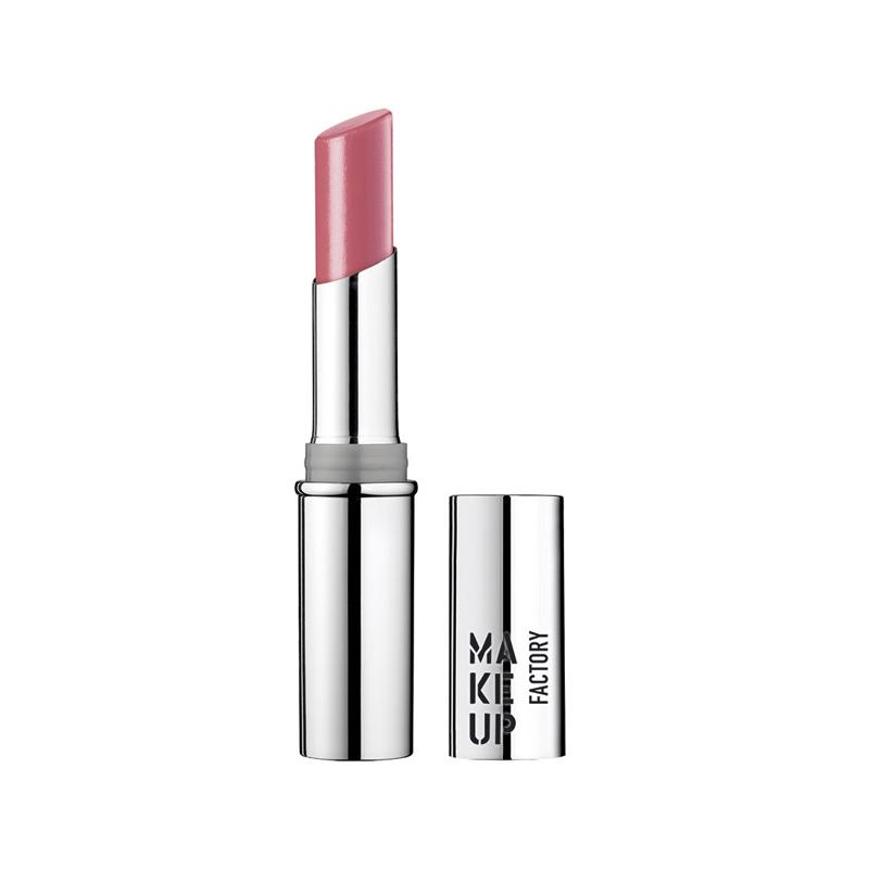 makeupfactory lippenstift glossy dezent teerose