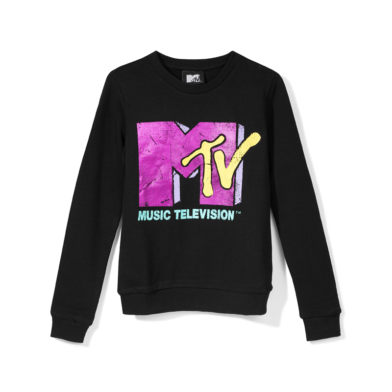 Sweatshirt mit MTV-Logo