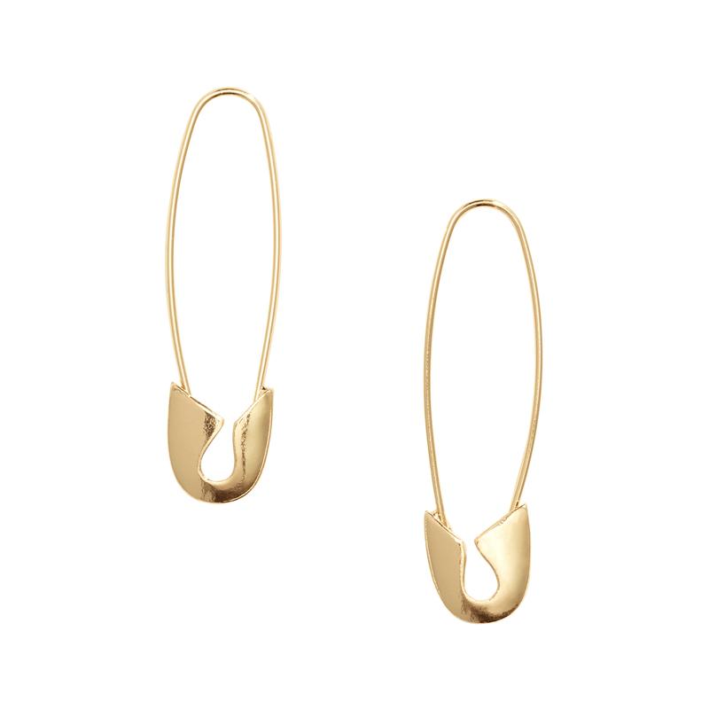Goldene Ohrringe von H&M