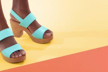 Plateau-Schuhe im Trend