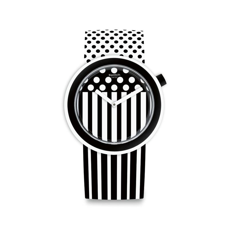 Pop Swatch mit Streifen
