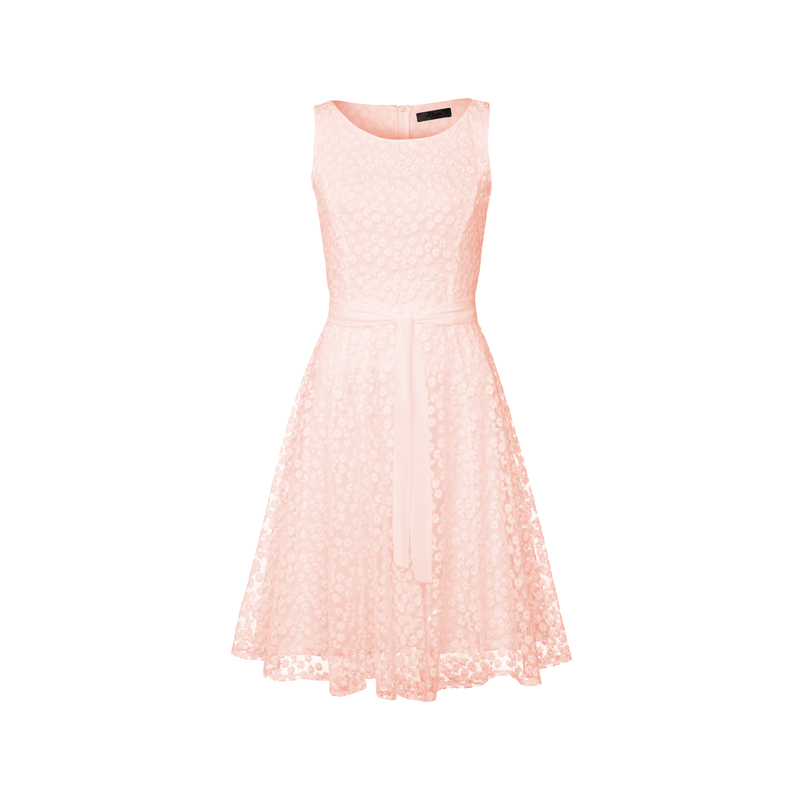 s.Oliverprmium rosa cocktailkleid spitze hochzeit