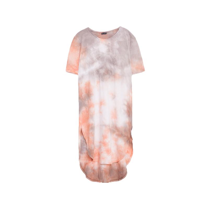 Shirtkleid mit Farbverlauf