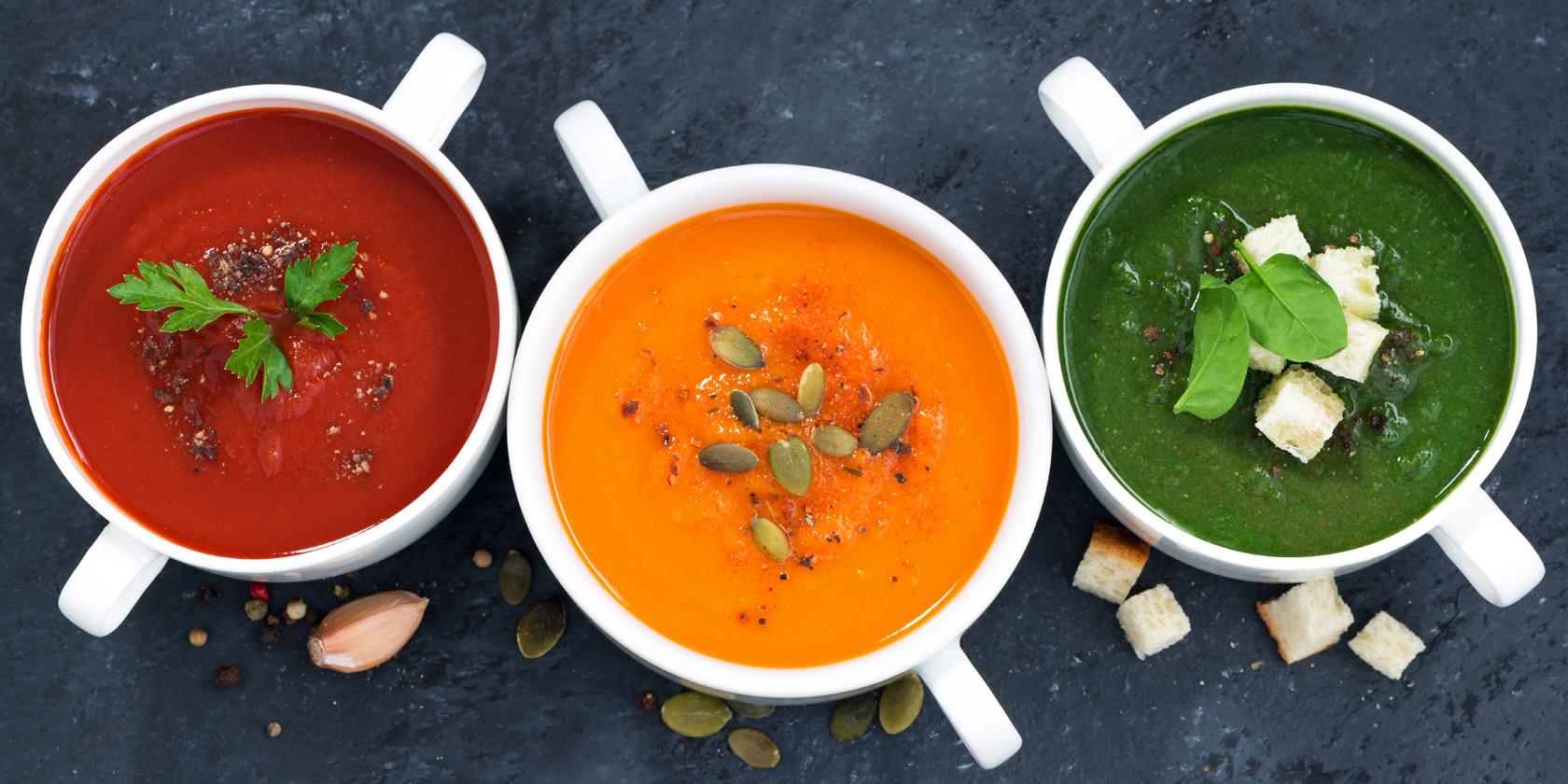 Souping: Suppen sind die neuen Detox-Kuren