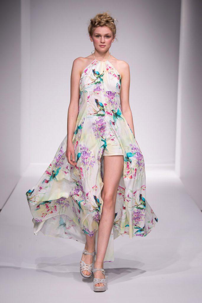 ethical fashion show kleid