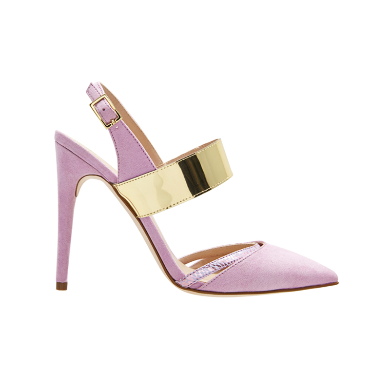 High Heels in Rosa von Asos