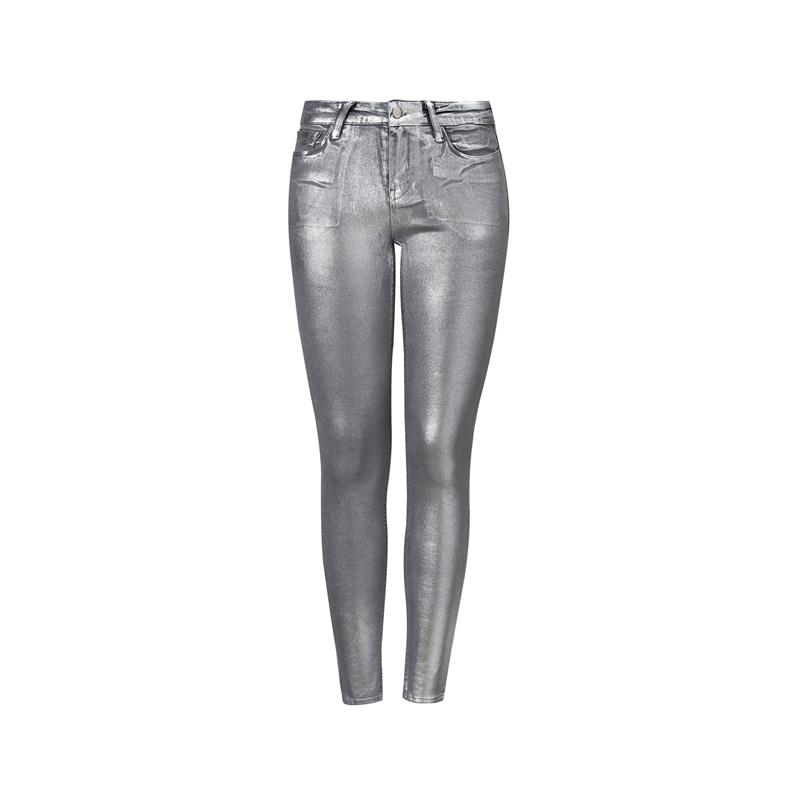 Silberne Hose von Mango