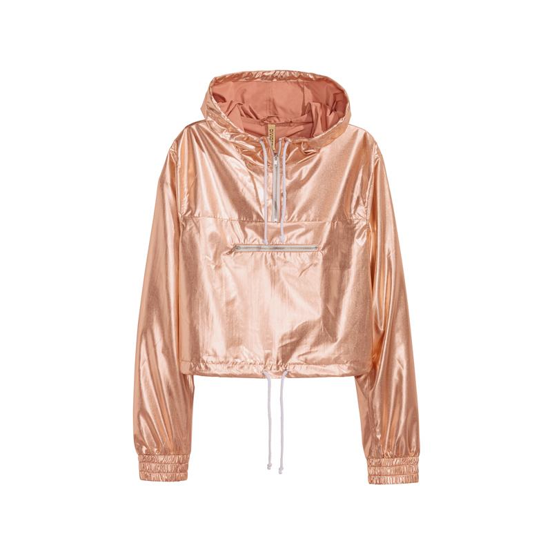 Metallic Jacke von H&M