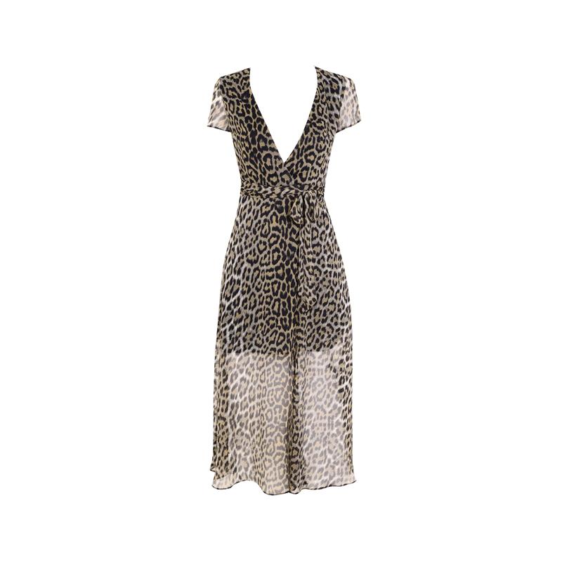 Leoparden Kleid von Topshop