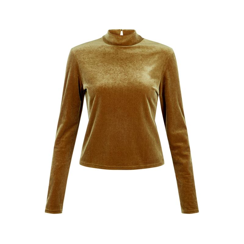 Samt Pullover von New Look