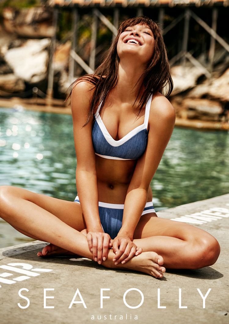 seafolly blau