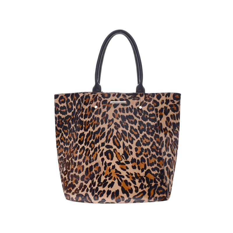 Tasche mit Leoparden-Muster
