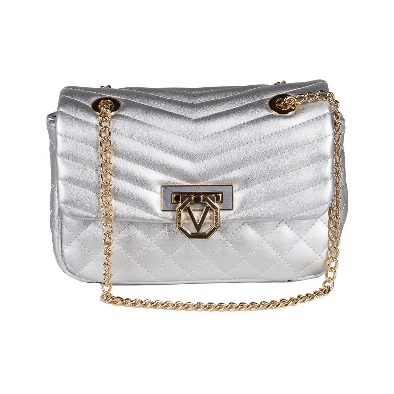 Silberne Tasche von Valentino
