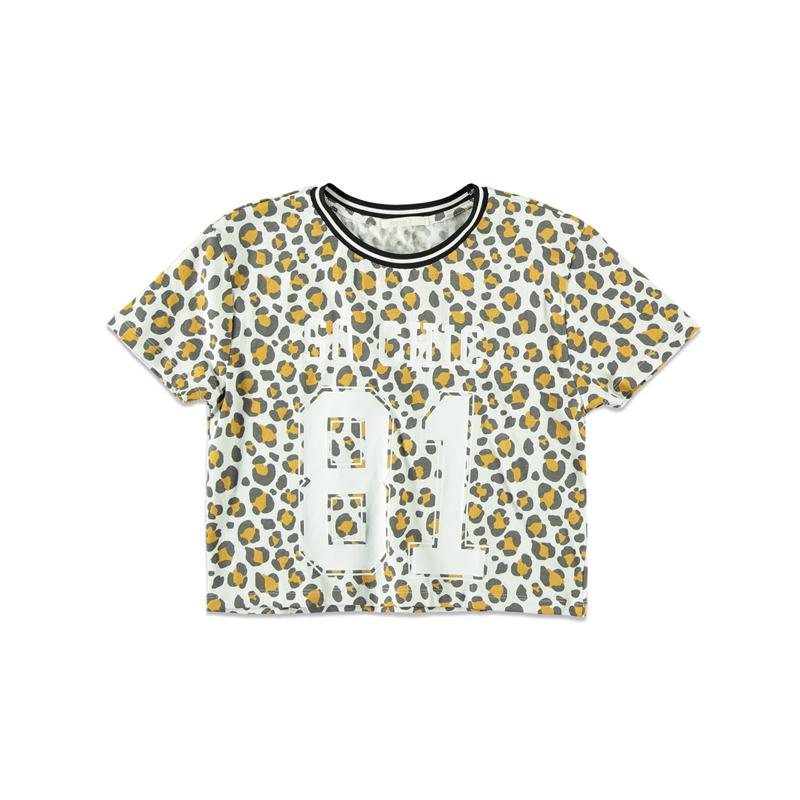 T-Shirt mit Leo-Print von Forever 21