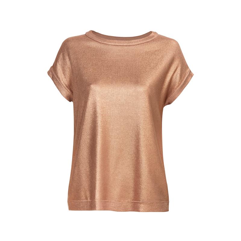 Metallic T-Shirt von Mango