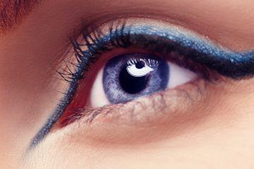 double eyeliner trend