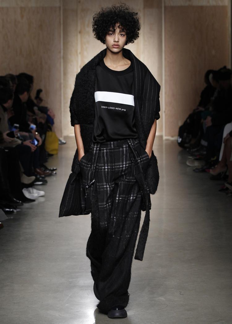 Karierte Hose von DKNY