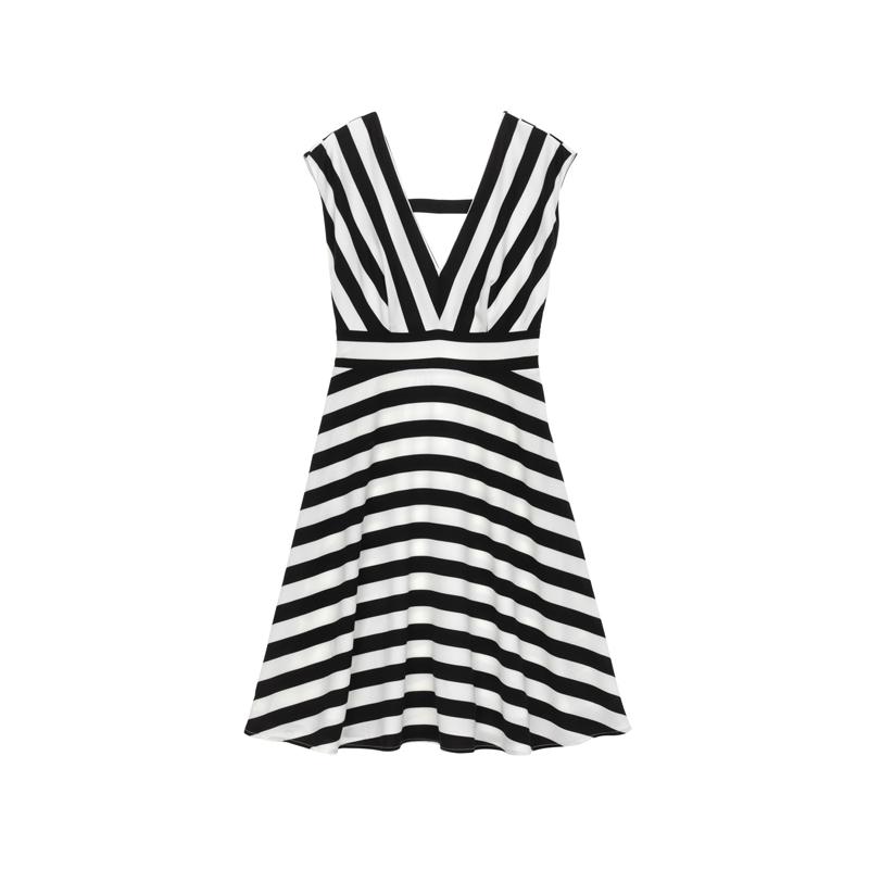 Kleid mit Streifen von Molly Bracken