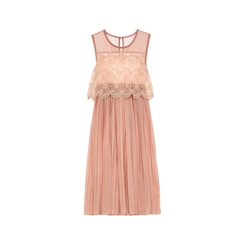 Kleid mit Spitze von Molly Bracken