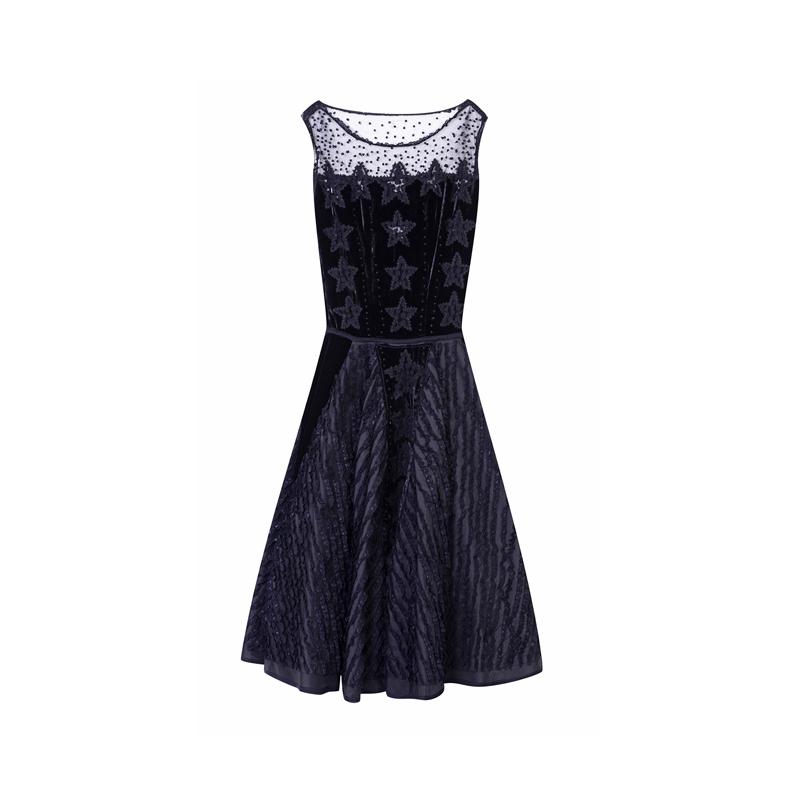 Kleid mit Sternen von Topshop