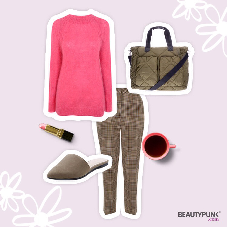 Outfit Trendfarbe Pink