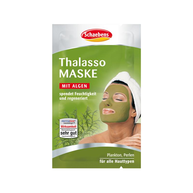 schaebens gesichtsmaske schlamm thalasso algen maske